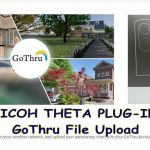 "RICOH THETA PLUG-IN ""GoThru File Upload"""